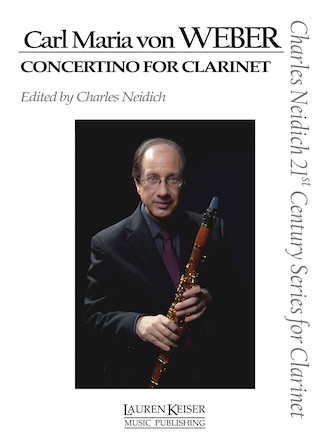Product Cover for Carl Maria von Weber – Concertino for Clarinet