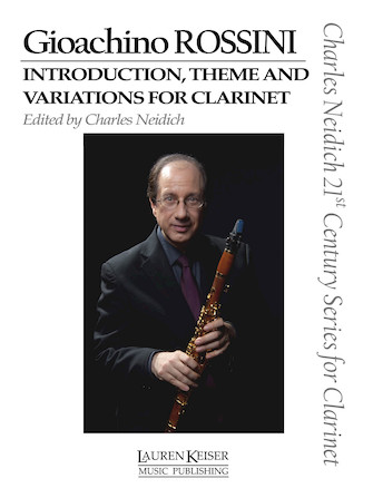 Product Cover for Gioachino Rossini – Introduction, Theme and Variations for Clarinet