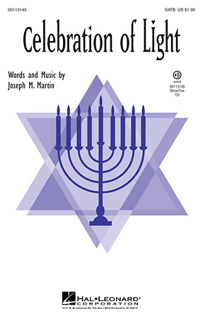 Celebration of Light : SATB : Joseph Martin : Joseph Martin : Sheet Music : 00113145 : 884088867751