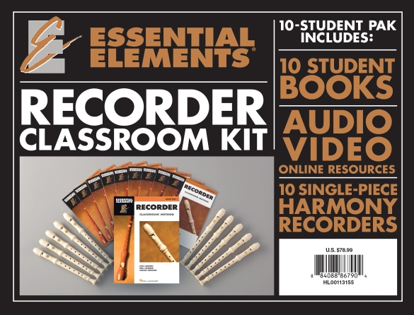 Product Cover for Essential Elements for Recorder Classroom Kit