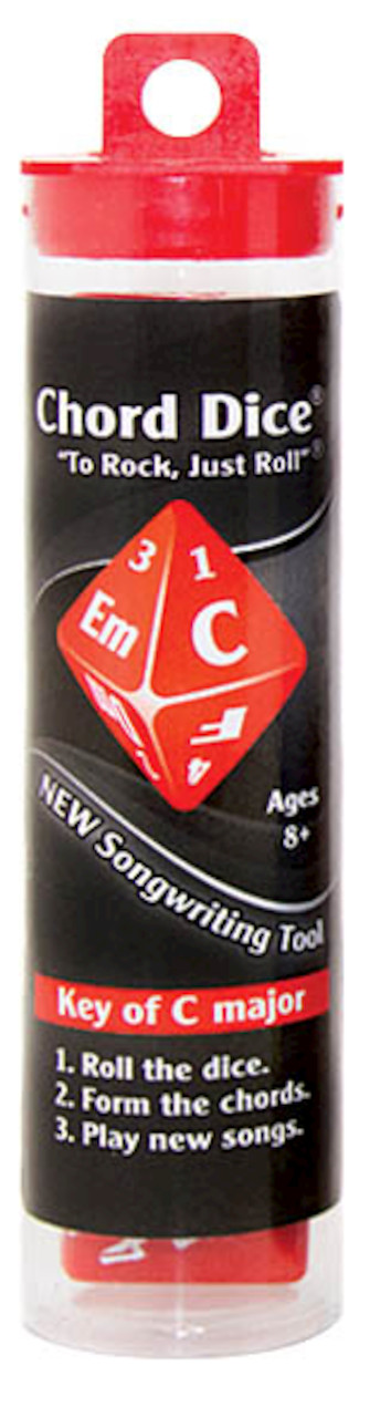 Product Cover for Chord Dice® – Key of C Major