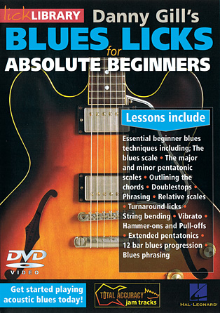 Product Cover for Blues Licks for Absolute Beginners