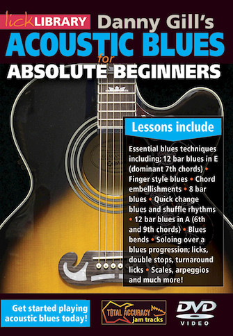 Product Cover for Acoustic Blues for Absolute Beginners