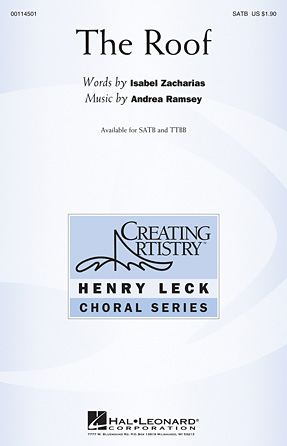 The Roof : SATB : Andrea Ramsey : Andrea Ramsey : Sheet Music : 00114501 : 884088874049