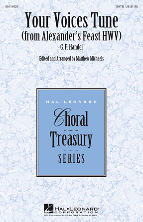 Your Voices Tune : SATB : George Frideric Handel : George Frideric Handel : Sheet Music : 00114525 : 884088874827