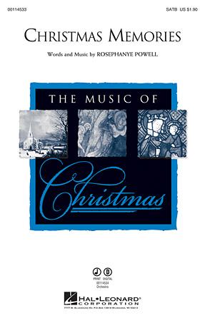 Christmas Memories : SATB : Rosephanye Powell : Rosephanye Powell : Sheet Music : 00114533 : 884088874919