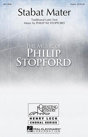 Stabat Mater : Unison : Philip Stopford : Philip Stopford : Sheet Music : 00114536 : 884088875008