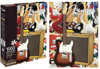 Product Cover for Fender Collage – 1000-Piece Jigsaw Puzzle