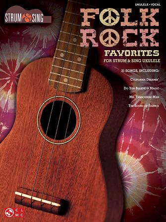 Product Cover for Folk Rock Favorites for Ukulele