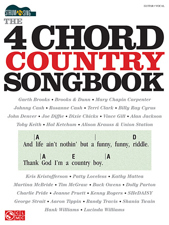 Product Cover for The 4-Chord Country Songbook – Strum & Sing