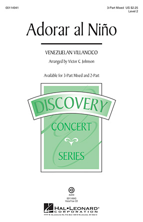 Adorar al Nino : SAB : Victor Johnson : Sheet Music : 00114941 : 884088876708