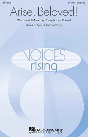 Arise, Beloved! : SATB Divisi : Rosephanye Powell : Rosephanye Powell : Songbook : 00115038 : 884088877866