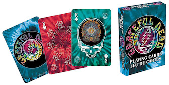 Product Cover for Grateful Dead Playing Cards (Tye Dye)
