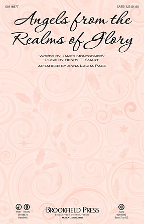Angels From The Realms Of Glory : SATB : Anna Laura Page : Sheet Music : 00116877 : 884088883829