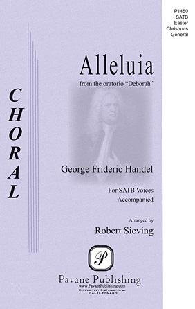 Alleluia : SAATB : George Frideric Handel : George Frideric Handel : Sheet Music : 00117123 : 884088886196