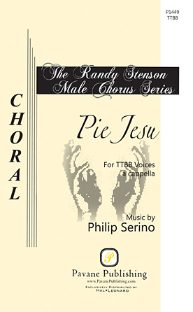Pie Jesu : TTBB : Philip Serino : Philip Serino : Sheet Music : 00117159 : 884088886646