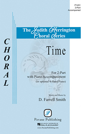 Time : 2-Part : D. Farrell Smith : D. Farrell Smith : Sheet Music : 00117268 : 884088886875
