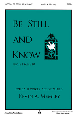 Product Cover for Be Still and Know