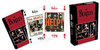 Product Cover for Beatles Playing Cards (Singles)