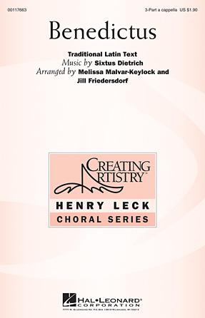 Benedictus : SSA : Melissa Malvar-Keylock : Sheet Music : 00117663 : 884088889401