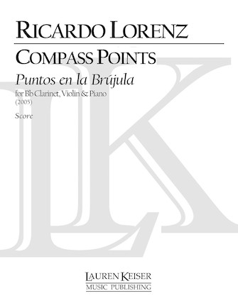 Product Cover for Compass Points (Puentos En La Brujula) for Clarinet, Violin and Piano