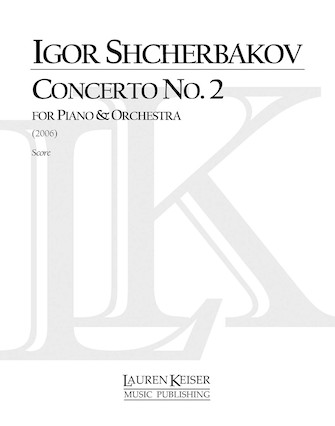 Product Cover for Concerto No. 2 for Piano and Orchestra, Full Score