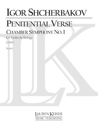 Product Cover for Penitential Verse: Chamber Symphony No. 1 for Violin and Strings