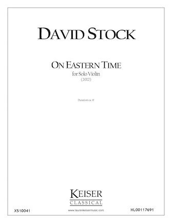 Product Cover for On Eastern Time