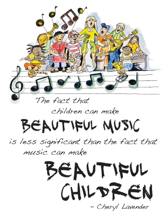 Product Cover for Beautiful Music, Beautiful Children Poster