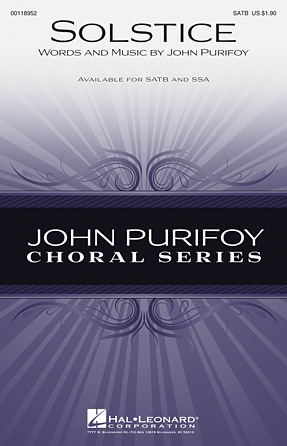Solstice : SATB : John Purifoy : John Purifoy : Sheet Music : 00118952 : 884088903800