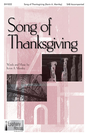 Product Cover for Song of Thanksgiving