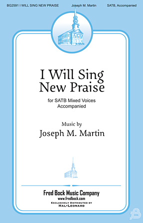 Product Cover for I Will Sing New Praise