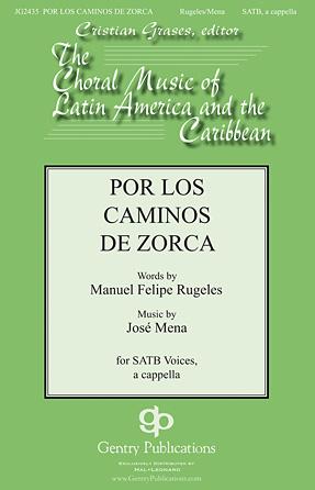 Por Los Caminos : SATB : Jose Mena : Jose Mena : Sheet Music : 00119064 : 884088904920