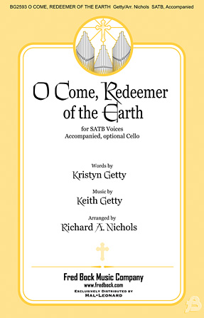 Product Cover for O Come, Redeemer of the Earth