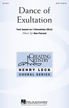 Dance of Exultation : SATB : Dan Forrest : Dan Forrest : Sheet Music : 00119127 : 884088905637