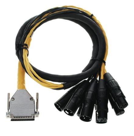 Product Cover for DB25 XLR M+F AES/EBU DigiSnake 4'