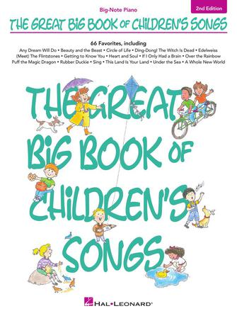 Product Cover for The Great Big Book of Children's Songs – 2nd Edition