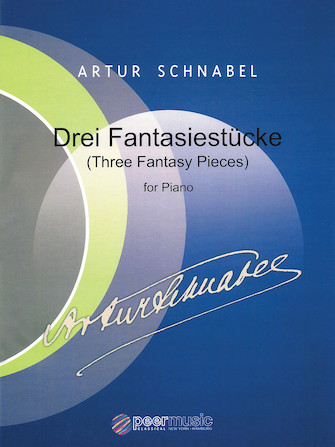 Product Cover for Artur Schnabel – Three Fantasy Pieces