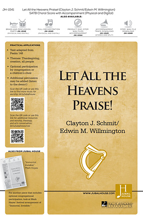 Product Cover for Let All the Heavens Praise!