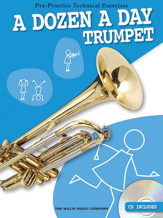 Product Cover for A Dozen a Day – Trumpet