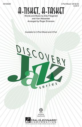 A-Tisket, A-Tasket : SAB : Roger Emerson : Ella Fitzgerald : Sheet Music : 00120226 : 884088916435
