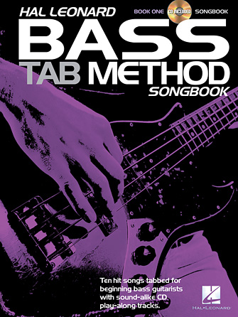 Product Cover for Hal Leonard Bass Tab Method Songbook 1