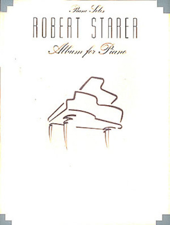 Product Cover for Robert Starer – Album for Piano