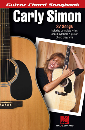 Product Cover for Carly Simon – Guitar Chord Songbook