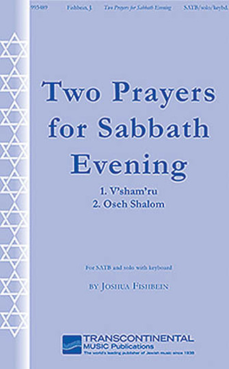 Product Cover for Two Prayers for Sabbath Evening