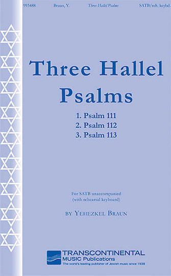 Product Cover for Three Hallel Psalms