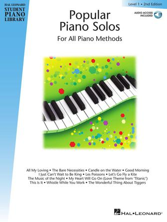 Product Cover for Popular Piano Solos 2nd Edition – Level 1
