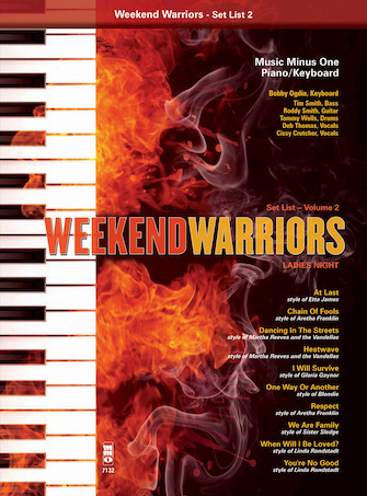 Weekend Warriors, Set List 2 – Ladies' Night Singer's Songbook