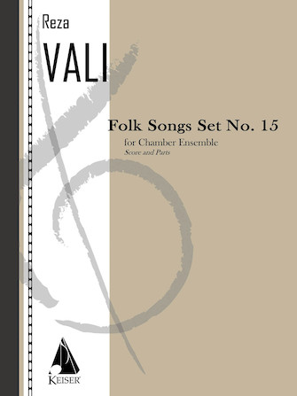 Product Cover for Folk Songs: Set No. 15 for 5 Players, Score and Parts