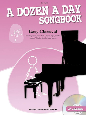 Product Cover for A Dozen a Day Songbook – Easy Classical, Mini